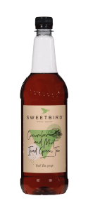 Sweetbird Cucumber and Mint Iced Green Tea Syrup - 1 Litre